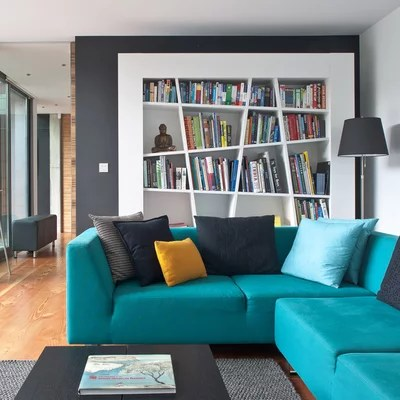 Contemporary Living Room by Simon Maxwell Photography