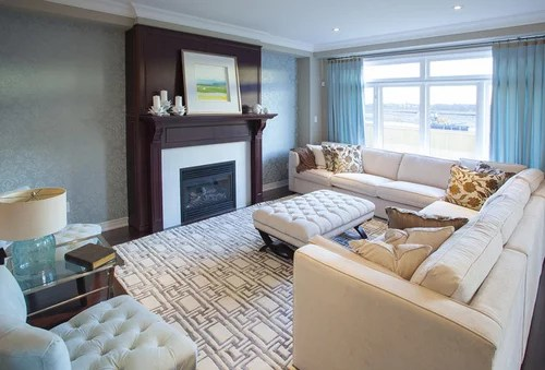 sectional or sofa and love seat
