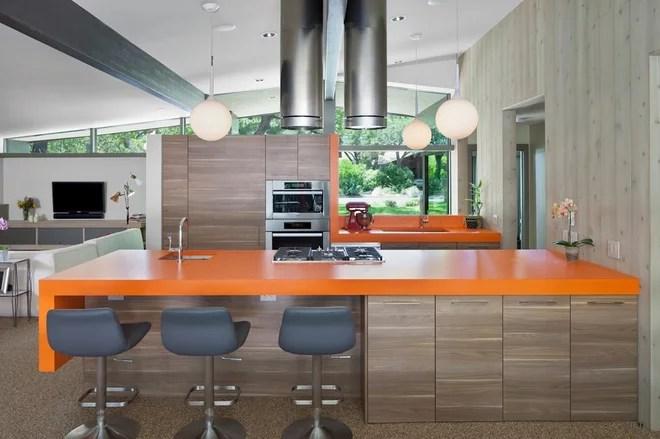 Midcentury Kitchen by Webber + Studio, Architects