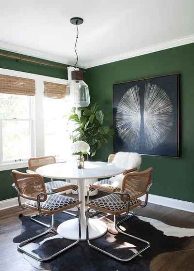 Eclectic Dining Room by Bella Life Style
