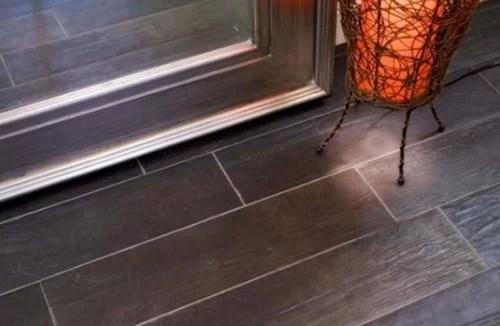 porcelain wood look tiles or laminate