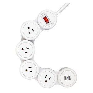 Access Lighting 6Ft Power Cord With Plug and In-Line