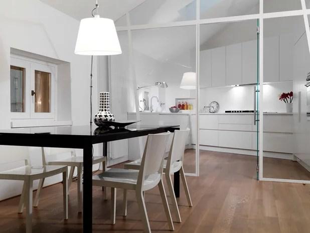 Contemporaneo Sala da Pranzo by antonio perrone architetto