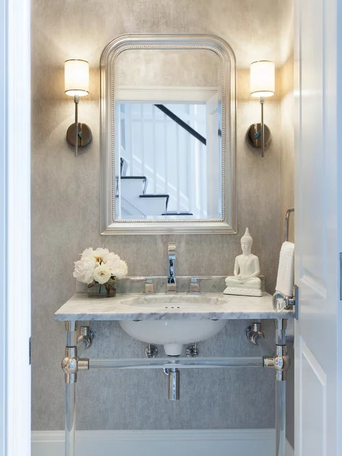 Powder Room Sink Home Design Ideas Pictures Remodel and Decor
