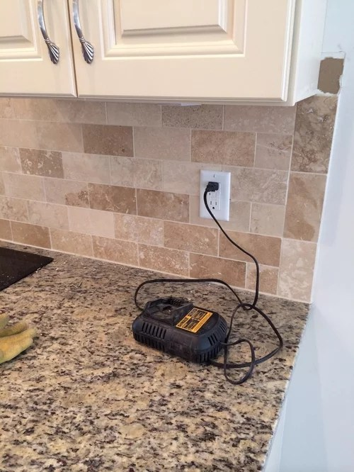 changing color of travertine tiles