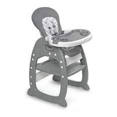 booster high chairs stairs chair lift 50 most popular and seats for 2019 houzz envee ii gray chevron