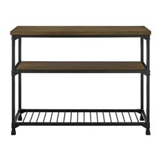 metal kitchen island glass for cabinets 50 most popular islands and carts 2019 houzz dorel living andre multifunction rustic antique oak black