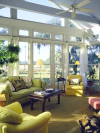 Sunroom Furniture Arrangement