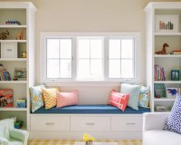 Window Seat Bookcase | Houzz