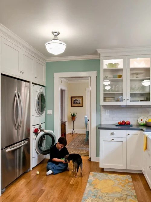 Washer And Dryer In Kitchen Home Design Ideas Pictures
