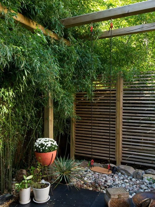japanese bamboo fence home design
