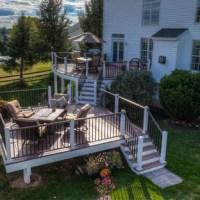 75 Transitional Backyard Deck Design Ideas - Stylish ...