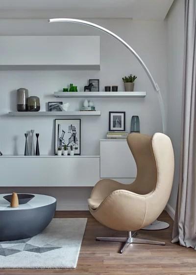 Scandinavian Living Room by Design3 | Дизайн в кубе