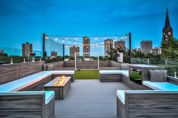 Modern Deck by PITCH Concepts