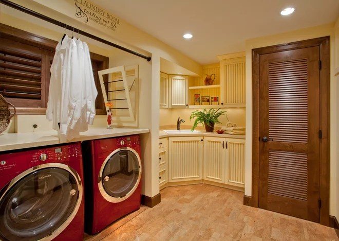 Traditional Laundry Room by L.EvansDesignGroup,inc