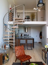 942 Contemporary Spiral Staircase Design Ideas & Remodel ...