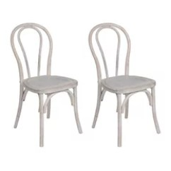 Bentwood Dining Chair Distressed Chairs 50 Most Popular For 2019 Houzz Event Equipment Sales Cafe Parisian Set Of 2 White Washed