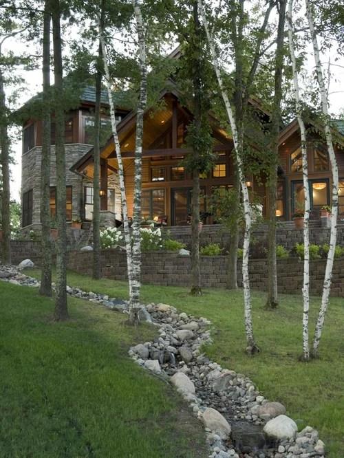 rustic landscape ideas design
