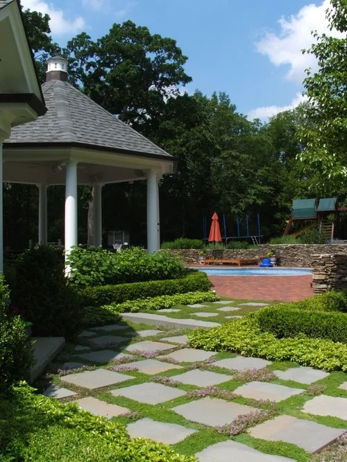 Layered Landscape  Houzz