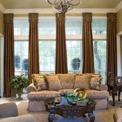Window Treatments For Living Room Sofa Set Design In India Siddons Team Mediterranean Dallas By