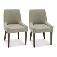 Houzz Dining Chairs Contemporary Modern Grey Leather Chair 50 Most Popular Room For 2019 Mod Tyler Scoop Back Light Gray Set Of 2