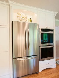 Open Area Above Refrigerator Ideas, Pictures, Remodel and ...