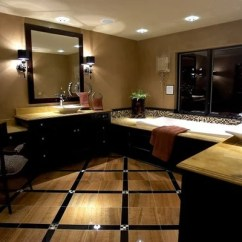 3 Piece Kitchen Faucet Build Cabinets Black And Tan Bathroom Home Design Ideas, Pictures ...