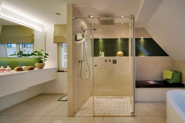 Ebenerdige Dusche einbauen Voraussetzungen Ideen und Aufwand