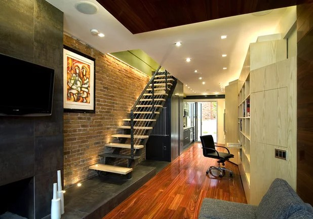 Design Lessons From A 10 Foot Wide Row House