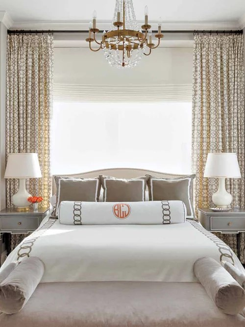 Bed In Front Of Window Home Design Ideas, Pictures