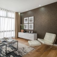 Living Room Feature Wall | Houzz
