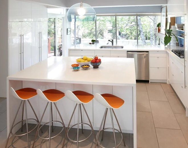 Modern Kitchen by Lisa Lev Design