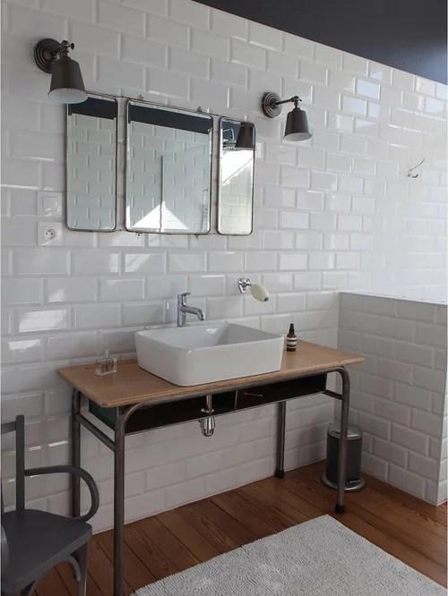 Salle de bain industrielle  Photos et ides dco de salles de bain