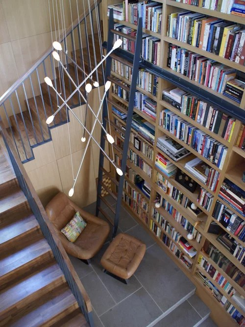 library chair ladder royal alliant stairs | houzz