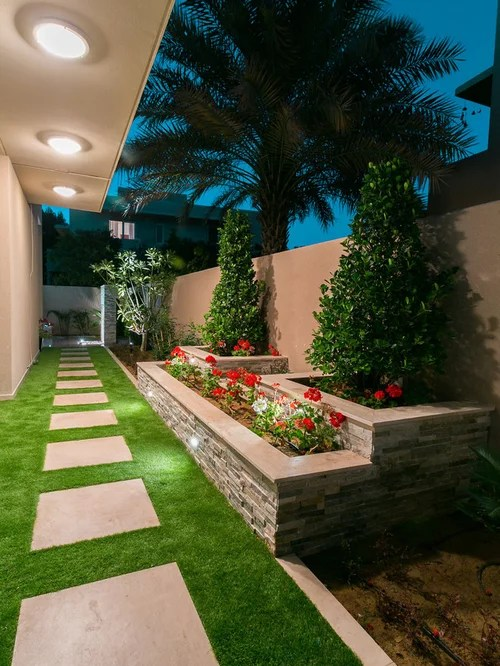 side yard landscaping ideas & design