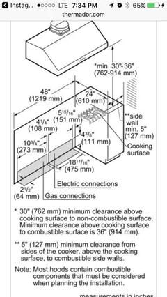 Gas Stove: Range Hood Height Above Gas Stove