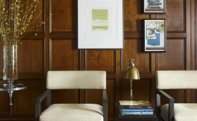 Library Paneling Houzz