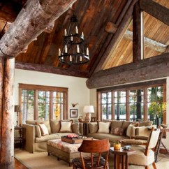 Low Ceiling Living Room Design Ideas Contemporary Inspiration Beam Photos Houzz Mid Sized Rustic Open Concept And Formal Medium Tone Wood Floor