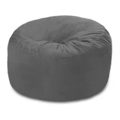 Buy Bean Bag Chair Navy Blue Outdoor Dining Cushions 50 Most Popular Chairs For 2019 Houzz Chill Sack Memory Foam 4 Ft Grey