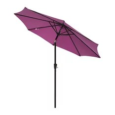 purple outdoor umbrellas