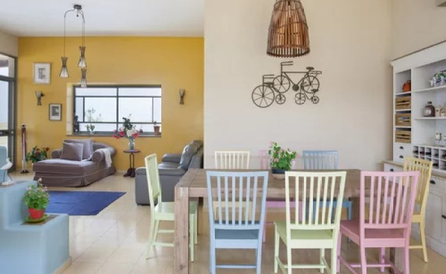 Yellow Accent Wall Home Design Ideas Pictures Remodel