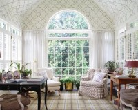 Vaulted Ceiling Window Treatments | Houzz