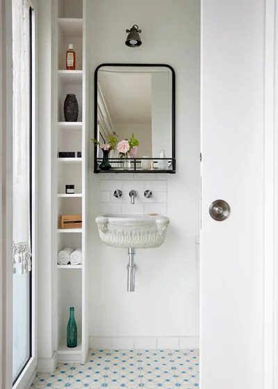 Eclectic Powder Room by Anna Stathaki   Photography
