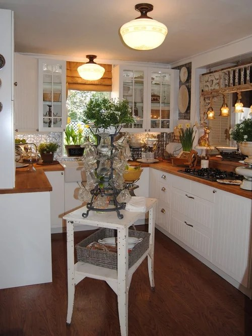 Small Cottage Kitchen Home Design Ideas Pictures Remodel