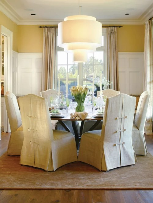 No Sew Chair Slipcovers  Houzz