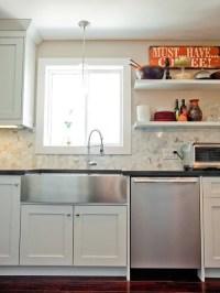 Farmhouse Sink With Drainboard   Houzz