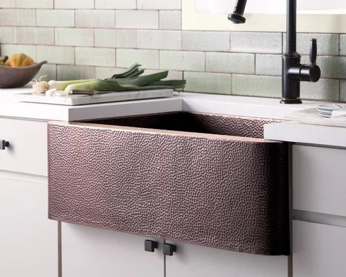 Hand Hammered Copper Kitchen Sinks By Native Trails