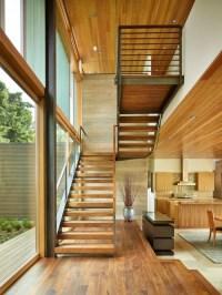 Modern U Shape Staircase   Houzz