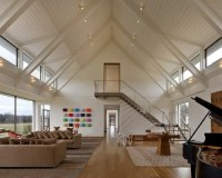 Peaked Ceiling | Houzz