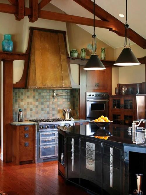 Green Backsplash Tile Home Design Ideas Pictures Remodel